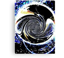 WormHole Canvas Print