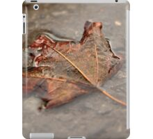 Maple Leaf in Puddle iPad Case/Skin