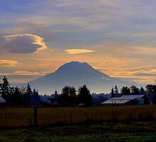 Mt. Rainier-1 by Hiroshi  Maeshiro