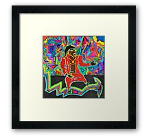 I Have A Dream Drinking Juice In South Central Framed Print