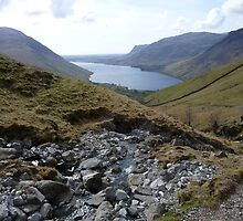 Wastwater from Scafell Pike by Chris Abrams