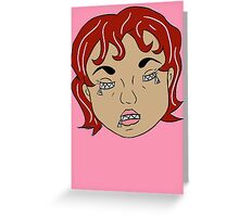 Zip: Melosa (color) Greeting Card