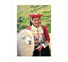 Cultures of Peru Art Print