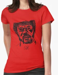 Jules Winnfield Womens Fitted T-Shirt