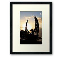 Companion-ship Framed Print