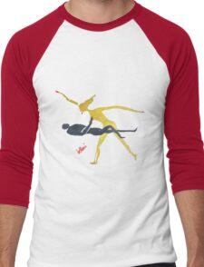 The Danavi Men's Baseball ¾ T-Shirt