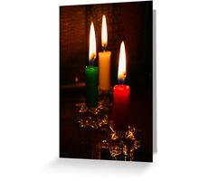 Flames Greeting Card