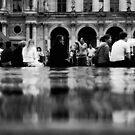 Waiting at the Louvre by Stormswept
