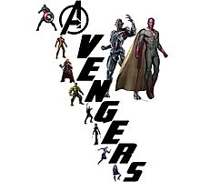 Avengers Age of Ultron Photographic Print