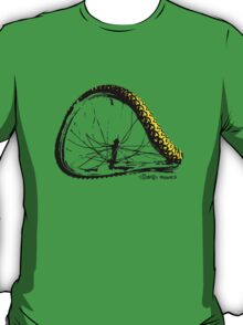 twisted wheels: bent wheel T-Shirt