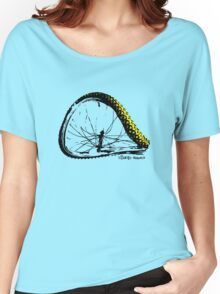 twisted wheels: bent wheel Women's Relaxed Fit T-Shirt