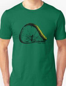 twisted wheels: bent wheel Unisex T-Shirt