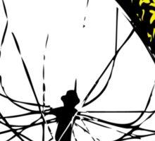 twisted wheels: bent wheel Sticker
