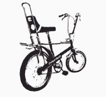 twisted wheels: black chopper Kids Clothes