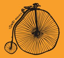 twisted wheels: penny farthing by fourfootsquare