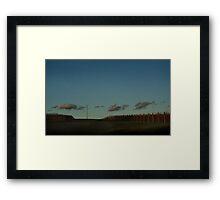 Through the Grapevine Framed Print