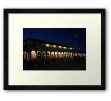 Bondi Pavilion at Dusk. Framed Print