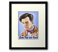 Bow Tie man Framed Print