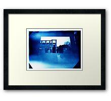 pinhole day Framed Print