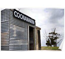 Old Coonawarra Train Station Poster
