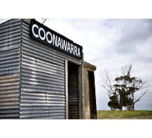 Old Coonawarra Train Station Photographic Print