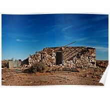 Sleepers and Ruin - Farina - South Australia Poster