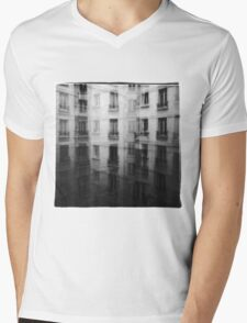 wall of worlds Mens V-Neck T-Shirt