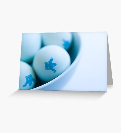 Eggs is eggs Greeting Card