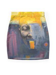 Compromised Soul Mini Skirt