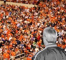 A Sea of Orange (fans!) by schmiddytwo