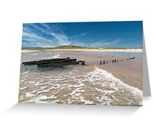 Islay: The Wreck Greeting Card