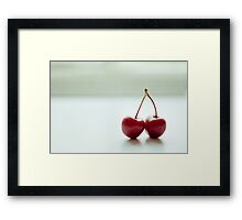Perfectly matched Framed Print
