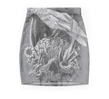 White Raven Mini Skirt