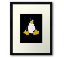 LINUX TUX THE PENGUIN KONTRA SIT Framed Print