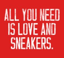 All you Need is Love and Sneakers Kids Clothes