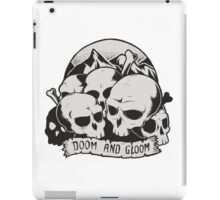 Skulls (Doom and gloom) iPad Case/Skin
