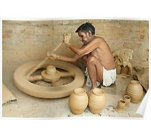 Earthen Pottery#11 Poster