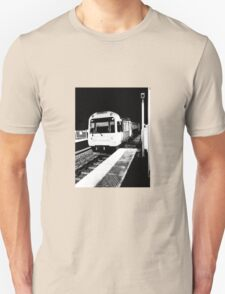 Train to nowhere.  Unisex T-Shirt