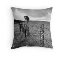 The Ochil Series - Winds and Fences Throw Pillow
