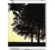 Backlit Trees iPad Case/Skin