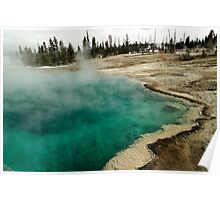 Black Pool - West Thumb Basin - Yellowstone National Park Poster