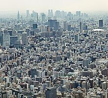 Tokyo Skyline by Ben Johnson Photography