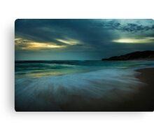 Mornington Peninsula - Sorrento back beach sunset Canvas Print