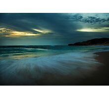 Mornington Peninsula - Sorrento back beach sunset Photographic Print
