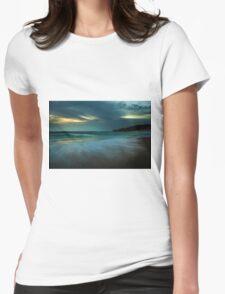 Mornington Peninsula - Sorrento back beach sunset Womens Fitted T-Shirt