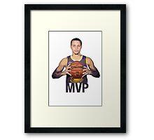 Golden State Warriors, Stephen Curry Framed Print