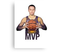 Golden State Warriors, Stephen Curry Canvas Print