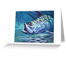 Tarpon In The Shallows Greeting Card