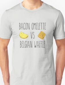 Life is Strange - Bacon Omelette VS Belgian Waffle T-Shirt