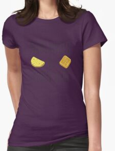 Life is Strange - Bacon Omelette VS Belgian Waffle Womens Fitted T-Shirt